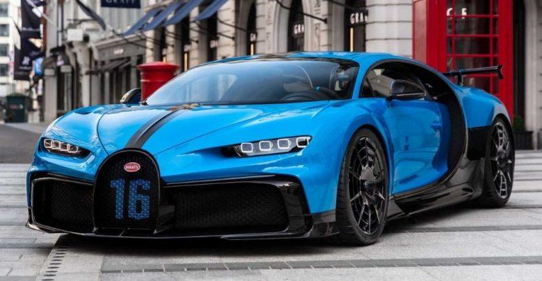 A Glimpse into 2021 Bugatti Chiron Pur Sport