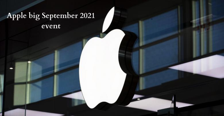 Apple big September 2021 event